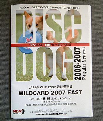 N.D.A. Diskdog Championships Yokohama Kmiseya